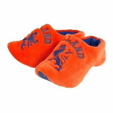 Klompen clogs sloffen oranje